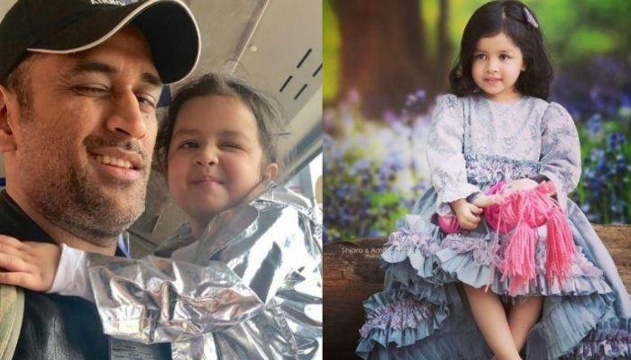 Ziva Dhoni Misses Daddy Dhoni, Shares The One Thing That She Is Missing The Most Doing With Him