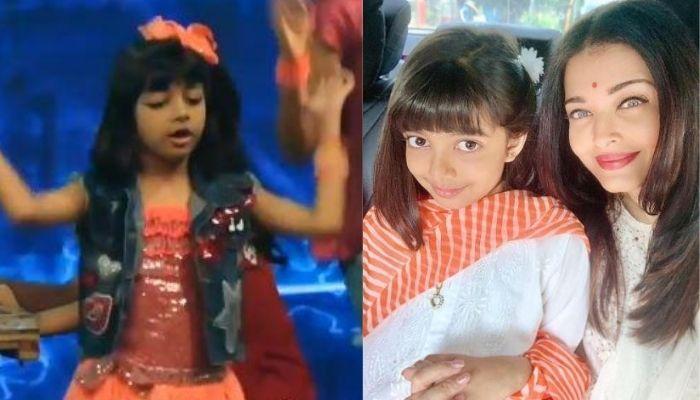 Unseen Video Of Aishwarya Rai Bachchan's Daughter, Aaradhya Flaunting Her Dancing Skills In A Show