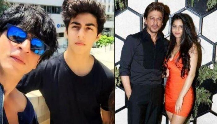 Shah Rukh Khan's Kids, Aryan And Suhana Look Sleepy In Their Unseen Childhood Video From An Event