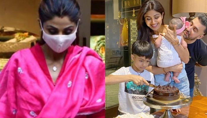 Shilpa Shetty Kundra Brings Ganpati Bappa Home For Her Daughter, Samisha's First Ganesh Chaturthi
