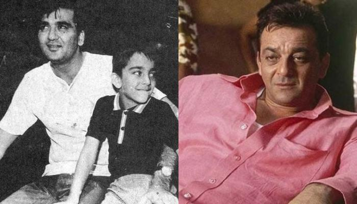 Sanjay Dutt Was Once Beaten With Shoes By His Father, Sunil Dutt When He Had Found About His Smoking