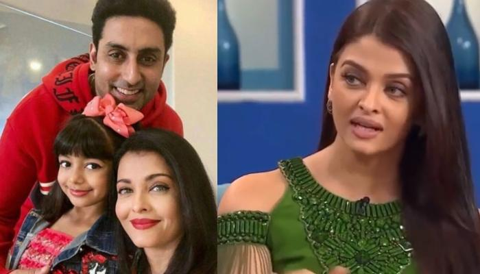 This Is What Aishwarya Rai Said When Asked Whether She Had Made 'Paranthas' For Abhishek Bachchan