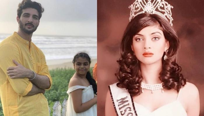 Sushmita Sen's Beau, Rohman Shawl Fits Himself And Alisah In Her Miss Universe's Crowning Moment