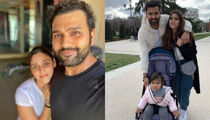 Rohit Sharma's Daughter, Samaira Helps Her Daddy Pack For IPL 2020, The Family Lands In Dubai