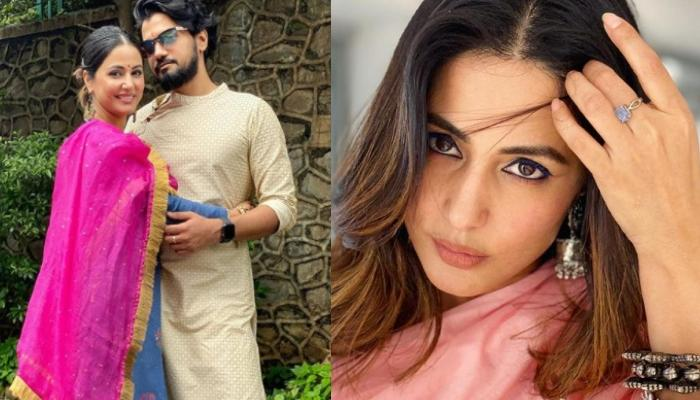 Hina Khan's Beau, Rocky Jaiswal Shares A Gorgeous Picture Of Her, Pens An Appreciation Note