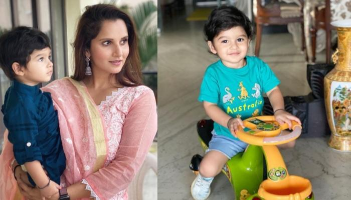 Sania Mirza Shares Her Little Munchkin Izhaan Mirza Malik's First Hyderabadi Word And It Is Too Cute