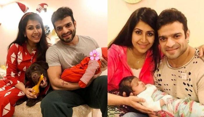 Ankita Bhargava And Karan Patel Play With Their Baby, Mehr, She Pens A Poem For Her Family Of Three