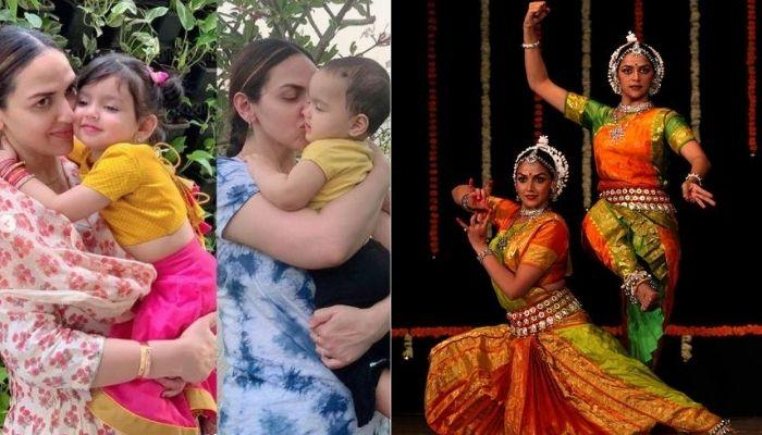 Esha Deol Shared How Her Daughters, Radhya-Miraya Would Join Her And Nani, Hema Ji In Dance Practice