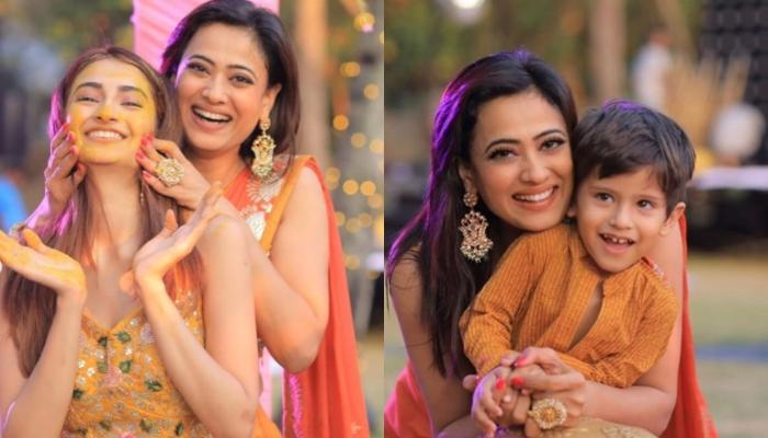 Shweta Tiwari Celebrates Ganesh Chaturthi With Daughter, Palak And Little Reyansh, Shares Video