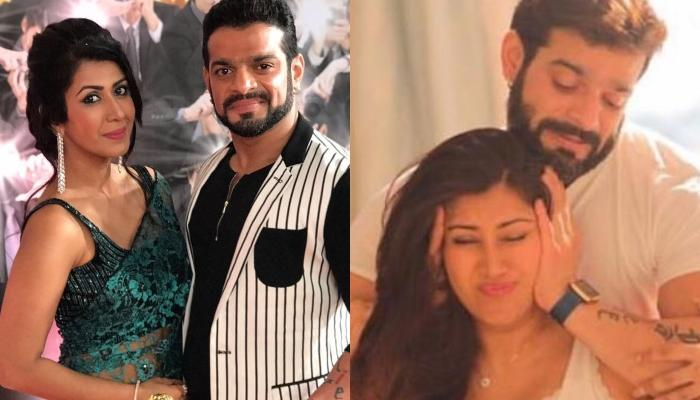 Ankita Bhargava Shares An Unseen Picture With Hubby, Karan Patel From Her Maternity Shoot