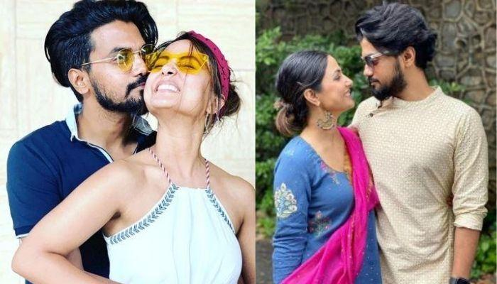 Rocky Jaiswal Cooks Daal-Chawal-Sabzi For Beau, Hina Khan, She Has A Sweet Reward For Him [Videos]