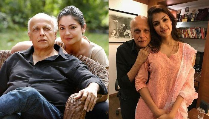 Pooja Bhatt Defends Dad, Mahesh Bhatt And Rhea Chakraborty's WhatsApp Conversation, Presents Proof
