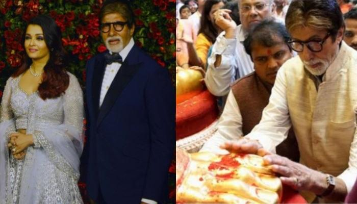 When Amitabh Bachchan And Aishwarya Rai Bachchan Sought Blessings At Ganesh Chaturthi Celebrations