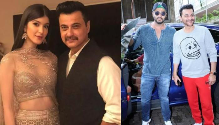 Sanjay Kapoor Shares Childhood Photo Of Daughter, Shanaya Kapoor With Her Brother, Arjun Kapoor
