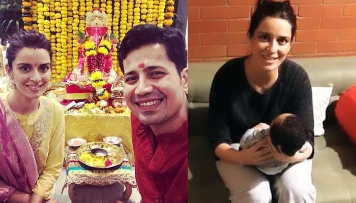 Ekta Kaul Celebrates Her Son, Ved Vyas' First Ganesh Chaturthi At Home With The Kaul Clan [Pictures]