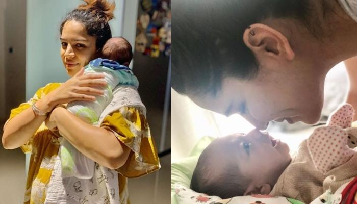 Shikha Singh Shares Adorable Pictures Of Her Baby Angel, Alayna With Her Super-Cute 'Goku Bhaiya'