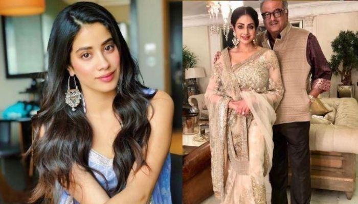 Janhvi Kapoor's Phone Wallpaper Has An Unseen Picture Of Father, Boney Kapoor With Mother, Sridevi