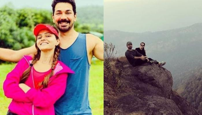 Rubina Dilaik's Husband, Abhinav Shukla Shares Picture From Her Surprise Birthday Party On Mountains