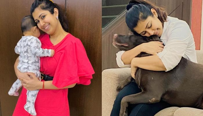 Ankita Bhargava Shares Pictures Of Her Daughter, Mehr's Playtime With Her 'Naughty Bhaiya'