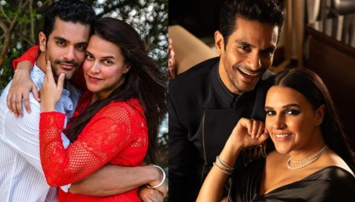 Angad Bedi Shares A Lovely Birthday Wish For His 'Mrs' Neha Dhupia, Calls Her His Pillar Of Strength