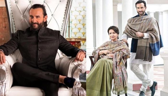 Saif Ali Khan Feels Blessed To Have Got Mother Sharmila Tagore's Genes And The Reason Will Amaze You