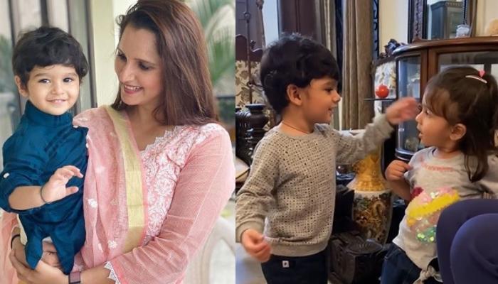 Sania Mirza's Goofball, Izhaan Mirza Malik Enjoys His Play Date, We Can't Stop Adoring His Cuteness