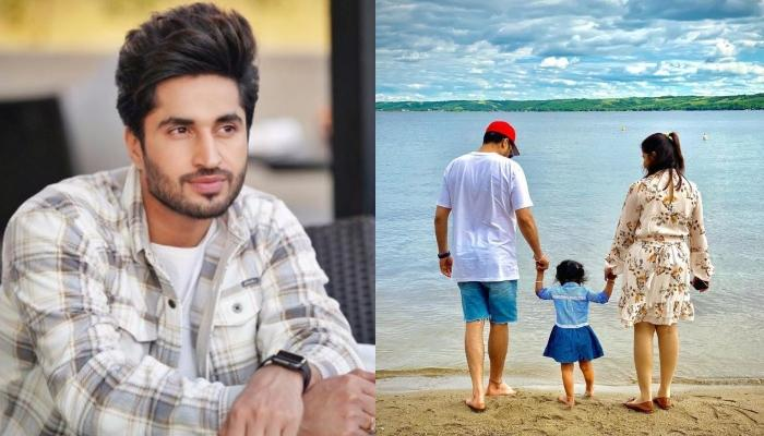 Jassie Gill Wishes His Wife On Her Birthday With A Romantic Unseen Picture From Their Beach Outing