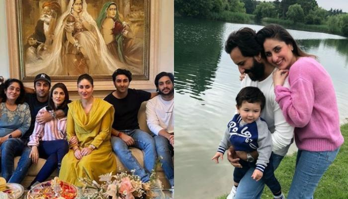 Taimur Ali Khan's Expression Seeing 'Ganesh Darshan' Is Unmissable In This Family Picture