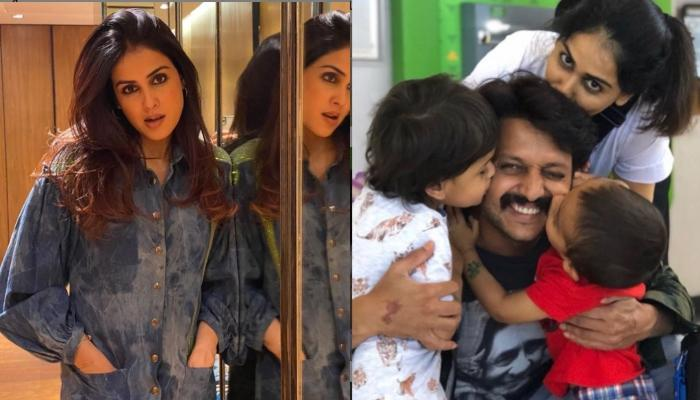 Genelia Deshmukh Was Tested Positive For COVID-19, Opens Up On Staying Away From Family