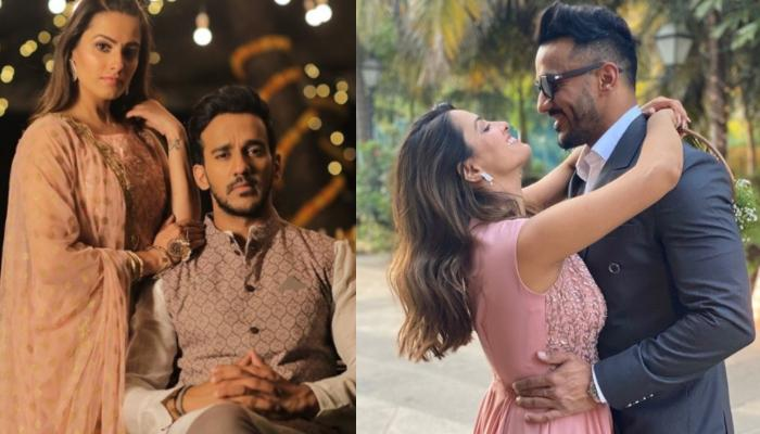 Anita Hassanandani And Rohit Reddy's Mushy Picture Cuddling Each Other Gives Major Marriage Goals