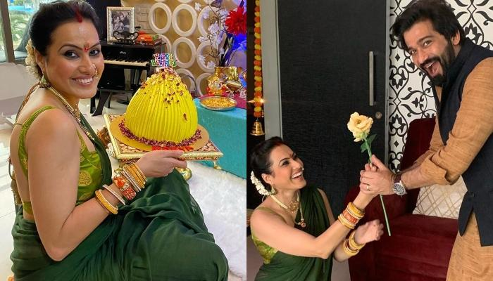 Kamya Panjabi Shares Her Hubby, Shalabh Dang's Reaction When She Went Down On Her Knees For Him