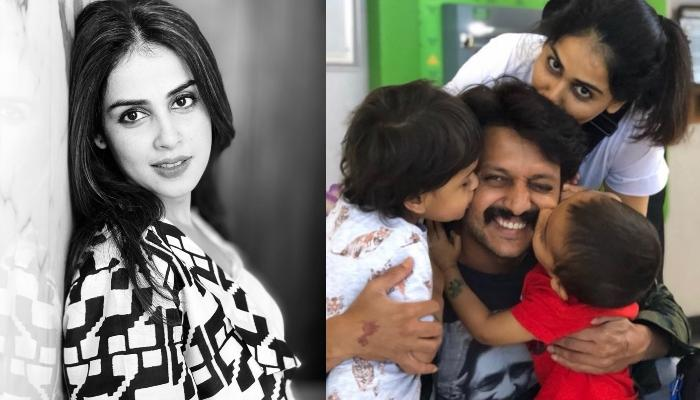 Genelia Deshmukh Opens Up On How Her Hubby, Riteish Deshmukh And Kids Helped Her To Fight COVID-19