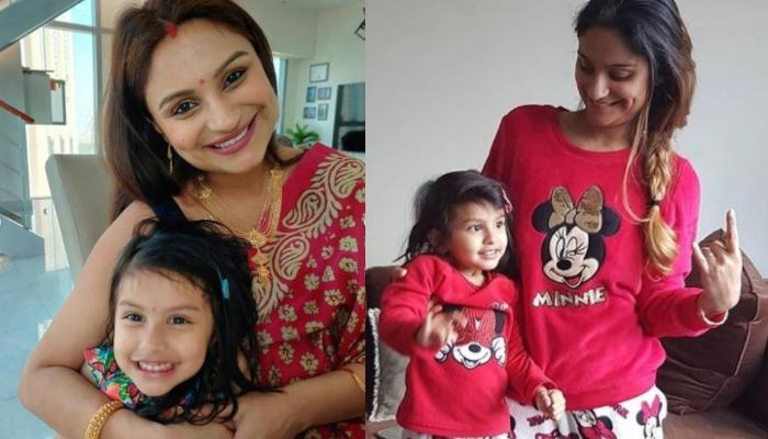 Dimpy Ganguly Shares Cutesy Picture Of Her Daughter, Reanna Going To The 'Big School' Amid COVID-19