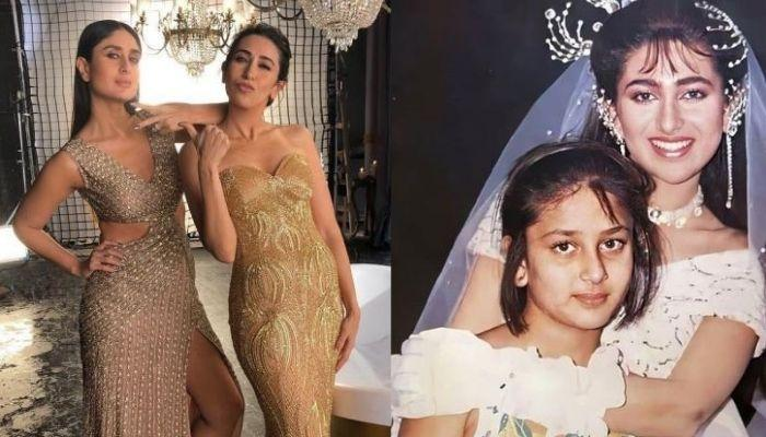 Baby Karisma Kapoor Feeds Her Little Sister, Kareena Kapoor In Their Rare Unseen Childhood Video