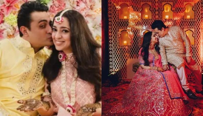 Nidhi Dutta Shares Unseen Pictures With Beau, Binoy Gandhi From Their 'Mehendi' And Engagement
