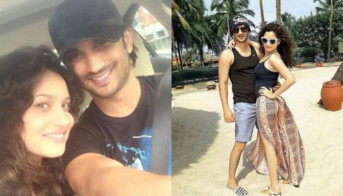 Ankita Lokhande Shares An Old Video Of Sushant Paragliding From One Of Their Vacations Together
