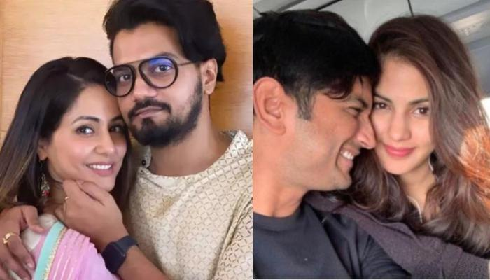 Rocky Jaiswal Supports Ladylove, Hina Khan As She Gets Trolled For Her Statement On Rhea Chakraborty