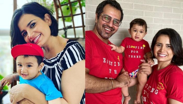 Priya Ahuja Rajda Shares Droolworthy Pictures With Her Munchkin, Ardaas, The Family Twins In Pink