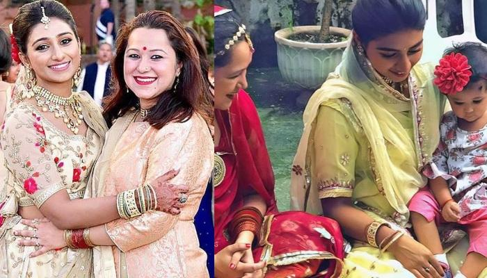 Mohena Kumari Singh's Social Distancing Photo With 'Bhabhisa' As She Reunites With Her After Months