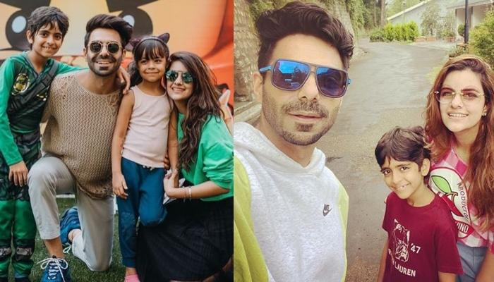 Aparshakti Khurana Spends Quality Time With His Wife Aakriti And Nephew Virajveer On Family Vacation