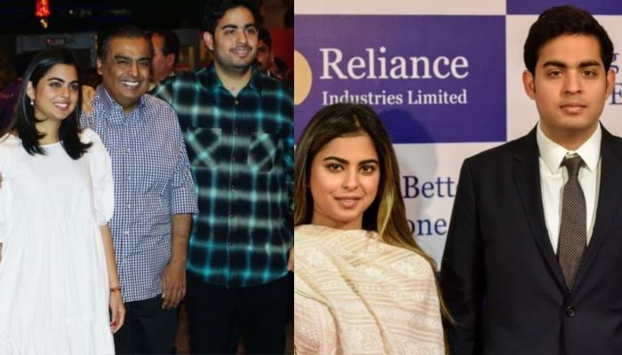 Isha Ambani And Akash Ambani Feature On Fortunes' '40 Under 40' Most Influential Young Leaders List