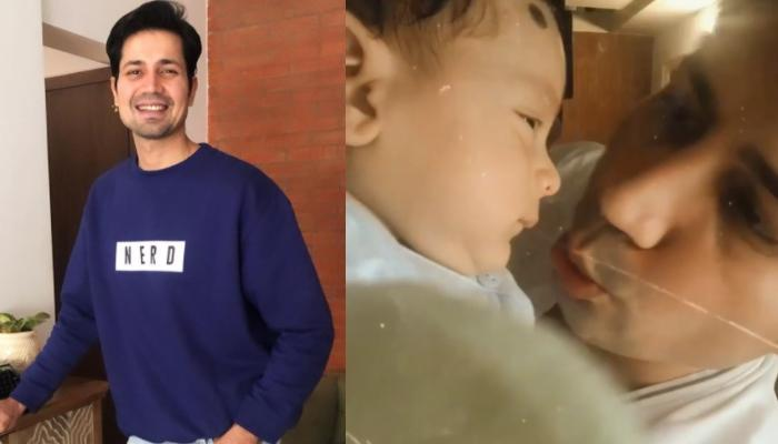 Sumeet Vyas Goofing Around With His Little Munchkin, Ved Vyas Gives A Glimpse Of The Father-Son Bond