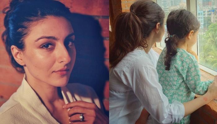 Inaaya Naumi Kemmu Gets 'Locked Out', Mommy, Soha Ali Khan Captures Her Cuteness