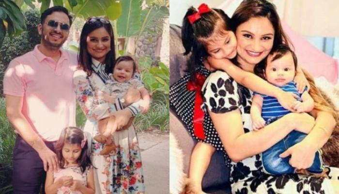 Dimpy Ganguly Shares An Adorable Monochrome Picture Of Her 'Little Piggies', Aryaan And Reanna