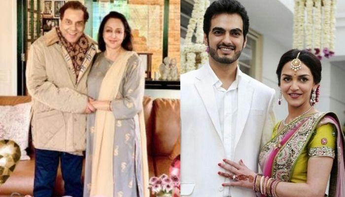 Hema Malini And Dharmendra Look Worried In This Unseen Picture From Daughter, Esha Deol's Wedding