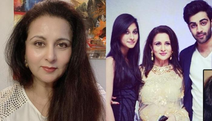 Poonam Dhillon Talks About What Gave Her Strength To Be A Single Mother To Her Kids Anmol And Paloma