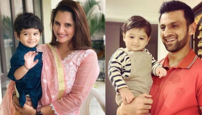 Sania Mirza Shares A Video Of Son, Izhaan Saying 'Baba' As He Is Excited To Meet Shoaib Malik