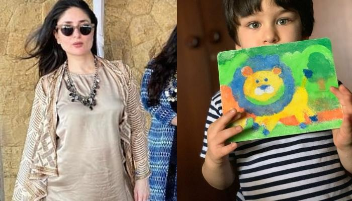 Kareena Kapoor Khan Flaunts Her Baby Bump In A Super Cute Picture With Taimur Ali Khan