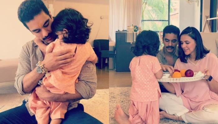 Angad Bedi Makes Instagram Reels With Daughter, Mehr, Gives A Sneak-Peek Into Their 'Sunday-Funday'