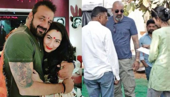 Sanjay Dutt Returns To Shoot For 'Shamshera' Amid Cancer Treatment, Wife, Maanayata Dutt Praises Him